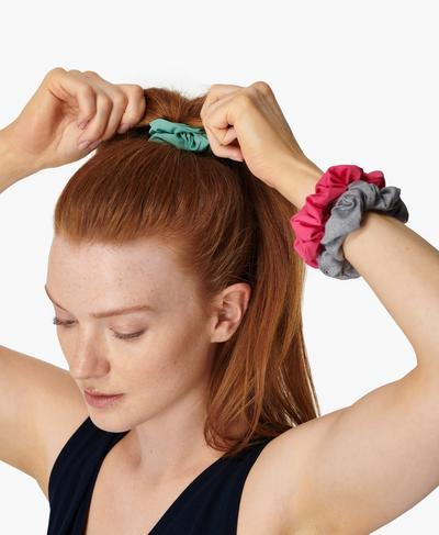 Scrunchie 3 Pack, Tayberry Pink | Sweaty Betty