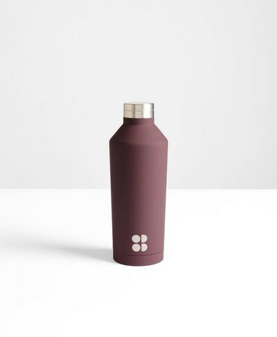 Keep It Chill Thermo Water Bottle, Black Cherry | Sweaty Betty