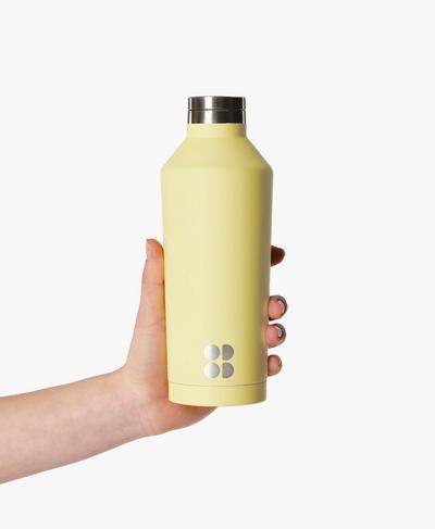 Keep It Chill Thermo Water Bottle, Riviera Yellow | Sweaty Betty