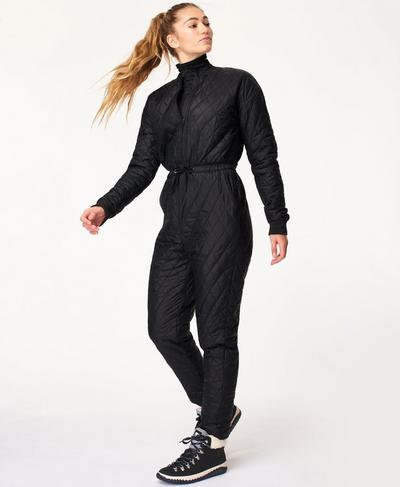 Gelidity Jumpsuit, Black | Sweaty Betty