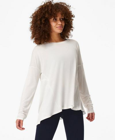 Easy Peazy Top, Lily White | Sweaty Betty