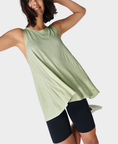 Easy Peazy Vest, Glacier Green | Sweaty Betty