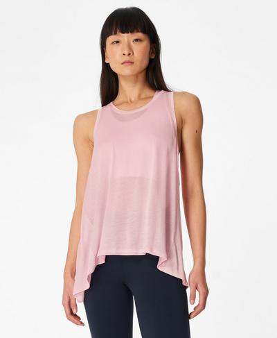 Easy Peazy Vest, Nerine Pink | Sweaty Betty