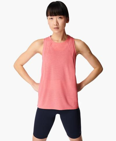 Pacesetter Running Tank, Calypso Pink | Sweaty Betty