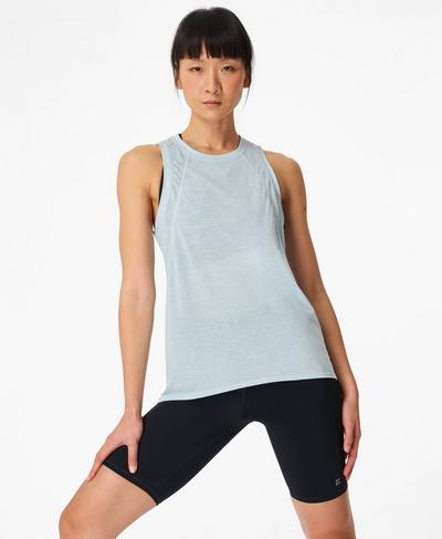 Pacesetter Running Vest, Ice Blue | Sweaty Betty