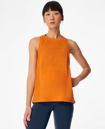 Pacesetter Running Vest, Murcott Orange | Sweaty Betty