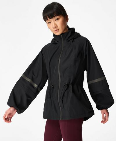 Mission Performance Jacket, Black | Sweaty Betty