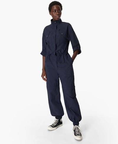 Interstellar Boilersuit, Navy Blue | Sweaty Betty