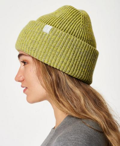 Rib Merino Knit Hat, Charcoal Grey | Sweaty Betty