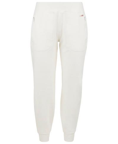 Gary Luxe Fleece Pants, Lily White | Sweaty Betty
