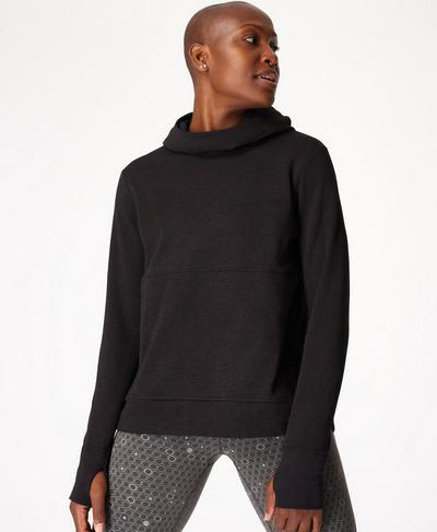 Galvanise Run Hoodie, Black | Sweaty Betty