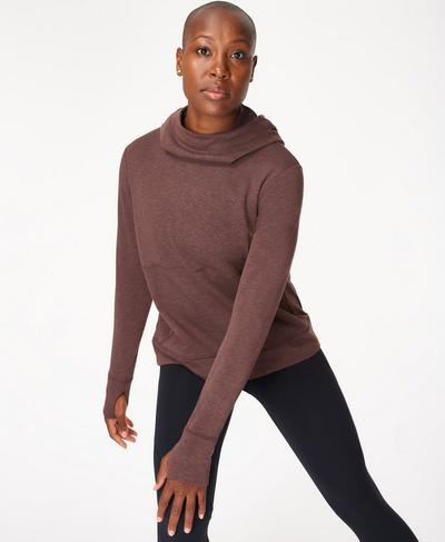 Galvanise Run Hoody, Black Cherry | Sweaty Betty