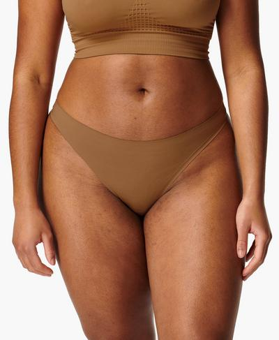 Barely There G-String, Light Brown | Sweaty Betty