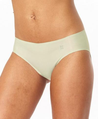 Sculpt Bikini Briefs, Pale Aqua Green | Sweaty Betty
