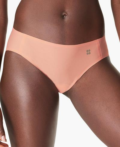Sculpt Bikini Pants, Peach Orange | Sweaty Betty