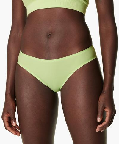 Barely There Briefs, Utopia Green | Sweaty Betty