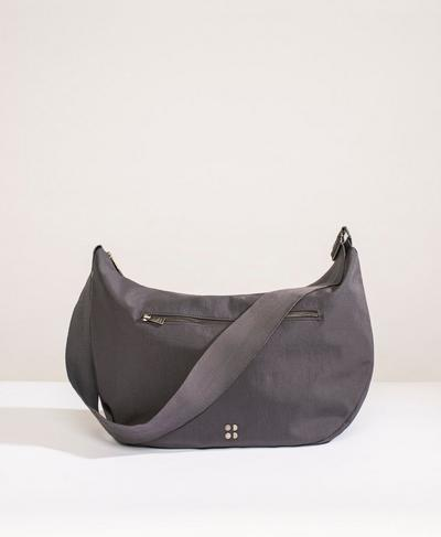 Large Crossbody Bag, Slate Grey | Sweaty Betty