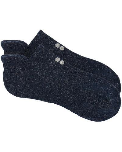 Sneaker Liner, Beetle Blue Sparkle | Sweaty Betty