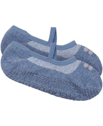 Pilates Sock, Stellar Blue | Sweaty Betty