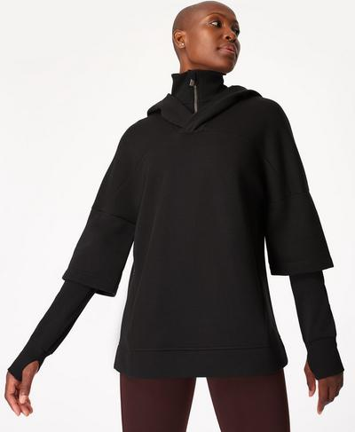 Adventurer Hoodie, Black | Sweaty Betty
