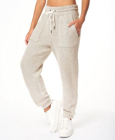Boucle Jogger, Lily White | Sweaty Betty