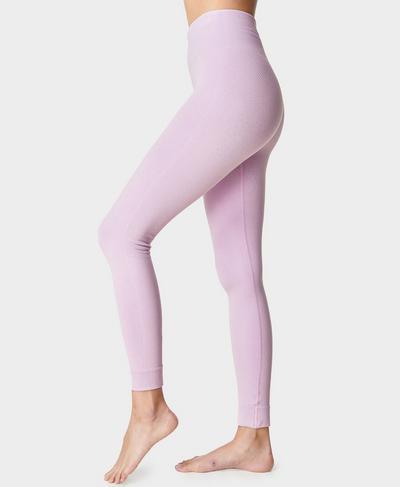 Mindful Seamless Yogaleggings, Aster Purple | Sweaty Betty
