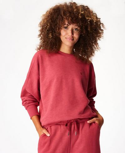 Essentials Sweater, Renaissance Red | Sweaty Betty
