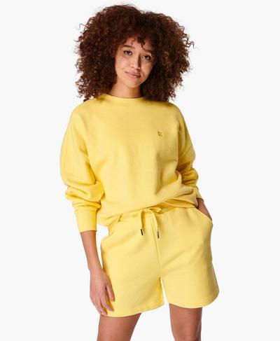 Essentials Sweater, Riviera Yellow | Sweaty Betty