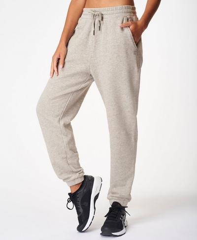 Essentials Jogger, Mid Grey Marl | Sweaty Betty