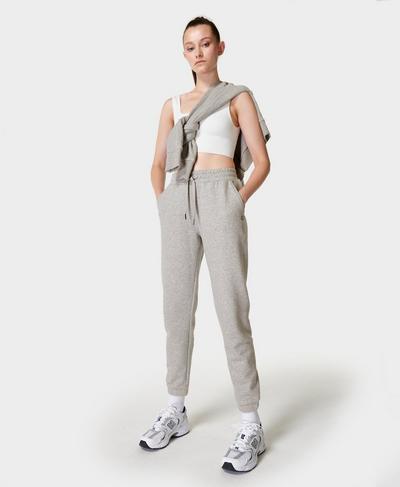 Essentials Jogginghose, Mid Grey Marl | Sweaty Betty