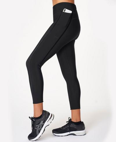 Thermodynamic Running Leggings, Black | Sweaty Betty