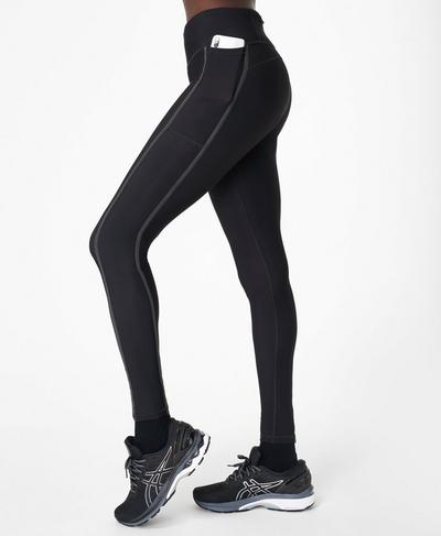 Thermodynamic Running Leggings, Black Ref | Sweaty Betty