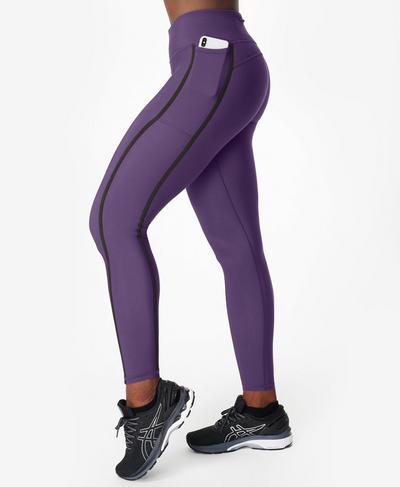 Thermodynamic Running Leggings, Vine Purple Ref | Sweaty Betty