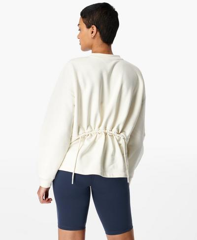 Low Tides Pullover, Lily White | Sweaty Betty