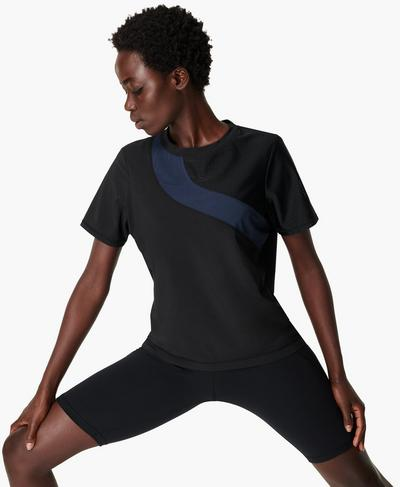 Score Gym T-shirt, Black | Sweaty Betty