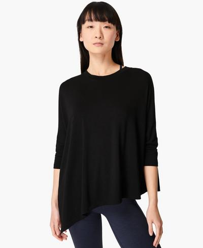 Mellow T-Shirt, Black | Sweaty Betty