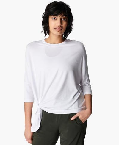 Mellow T-shirt, White | Sweaty Betty