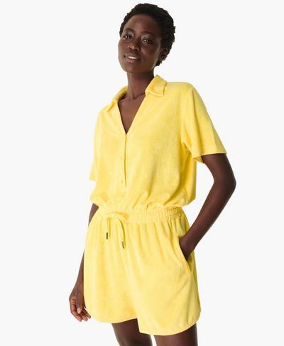 Summer Days Romper, Riviera Yellow | Sweaty Betty