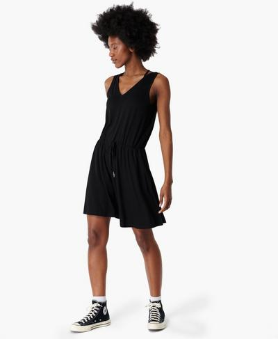 Take It Easy Dress, Black | Sweaty Betty