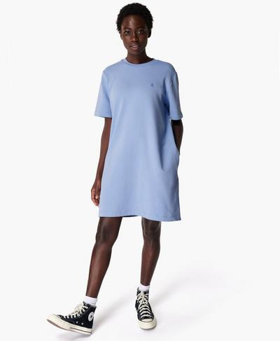 Essentials Dress, Coast Blue | Sweaty Betty