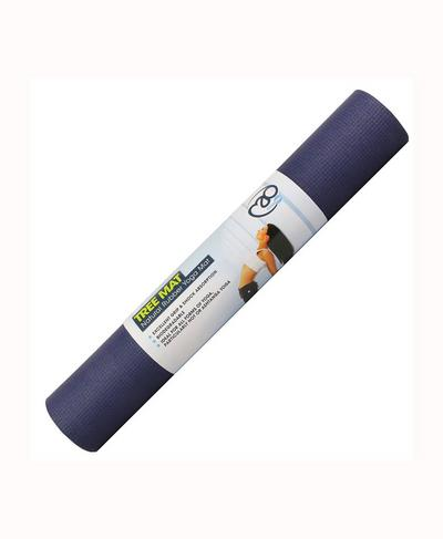 Eco Tree Yoga Mat, BLUE | Sweaty Betty