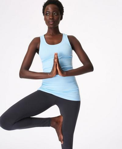 Mantra Vest, Ice Blue | Sweaty Betty