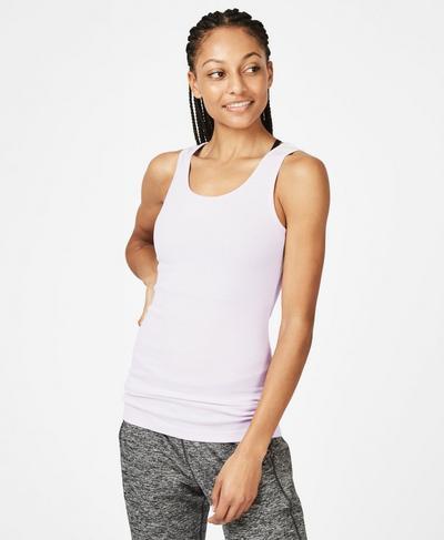 Mantra Workout Tank, LILAC | Sweaty Betty