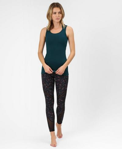 Mantra Tank, Midnight Teal | Sweaty Betty