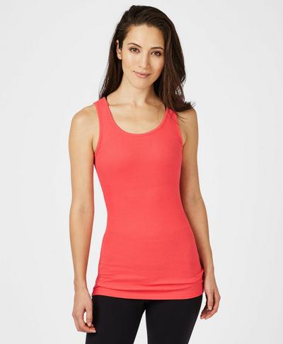 Mantra Tank, Tulip Red A | Sweaty Betty