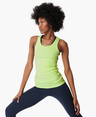 Mantra Tank, Utopia Green | Sweaty Betty
