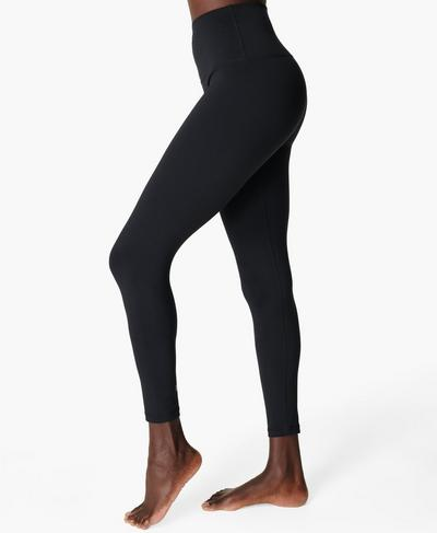 All Day High-Waisted Gym 7/8 Leggings, Black | Sweaty Betty