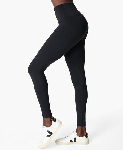 All Day High-Waisted Gym Leggings, Black | Sweaty Betty