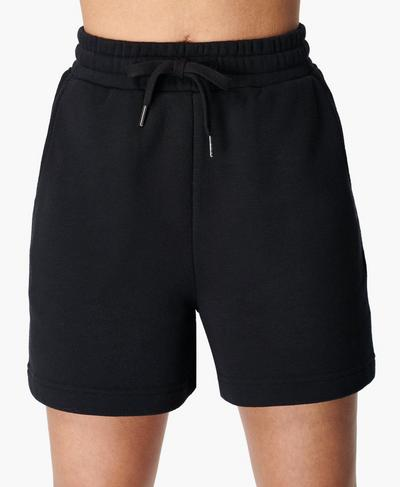 Essentials Shorts, Black | Sweaty Betty