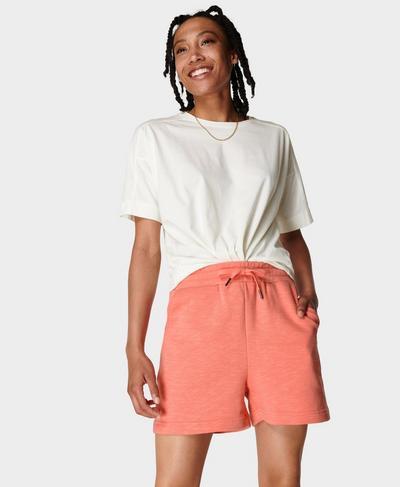 Essentials Shorts, Blush Pink | Sweaty Betty